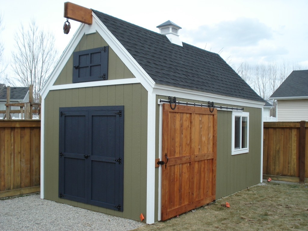 Paint Colors For Barn Sheds