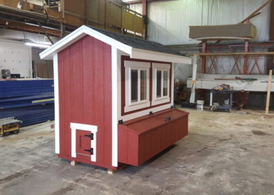 Chicken Coop Windows & Nesting Boxes