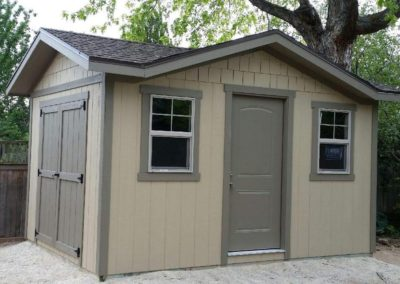 Custom Gable Orchard Shed