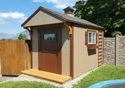 Garden Style Orchard Shed