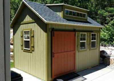 Mountain Green Orchard Shed