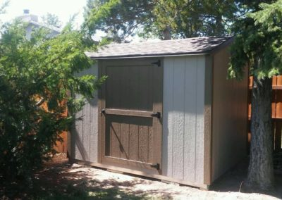 Vineyard Shed with Door on Side